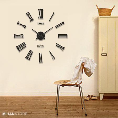 ساعت دیواری طرح ماهان