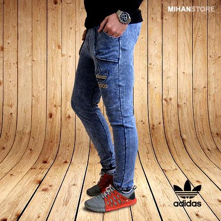 شلوار اسلش طرح جین Adidas