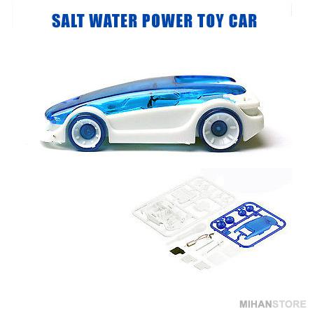 ماشین رباتیک با سوخت آب نمک