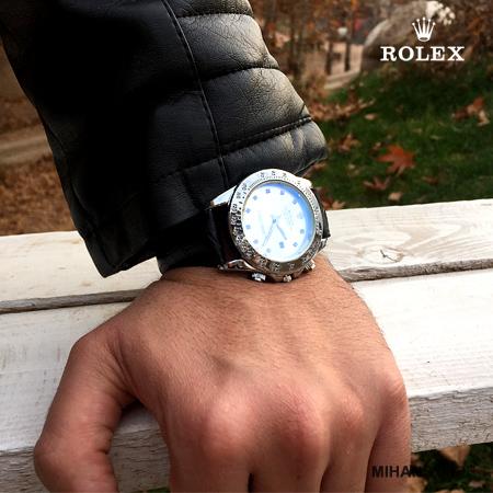 ساعت بند چرم Rolex