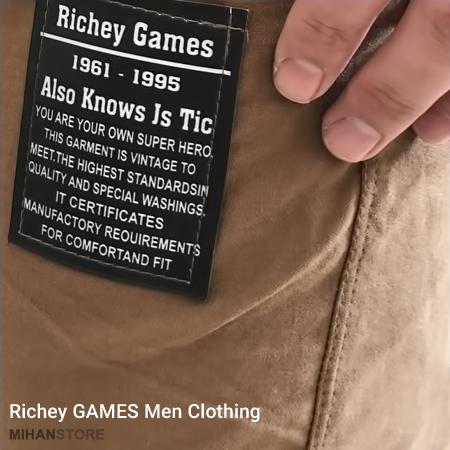 شلوار اسلش مردانه طرح Richey Games